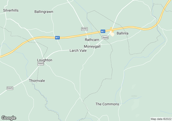 Map for Armyhill, Moneygall, Co. Offaly
