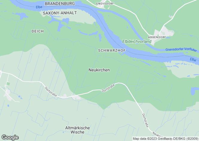 Map for Stendal, Saxony-Anhalt