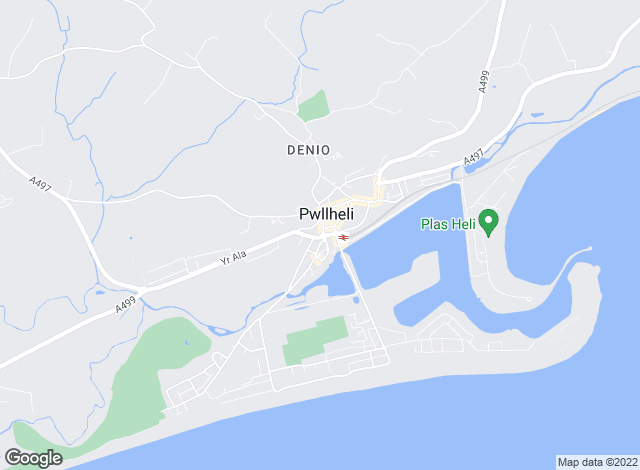 Map for Tudor Estate Agents, Pwllheli