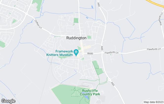 Map for Benwell Daykin Estate Agents, Ruddington