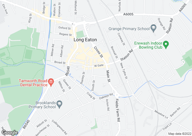 Map for Westgate,