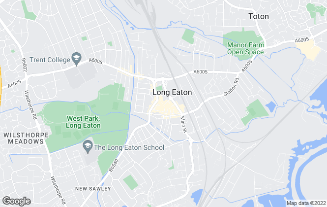 Map for Nottingham Property Services, Long Eaton