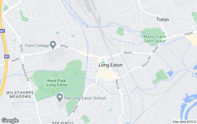 Map for Frank Innes, Long Eaton