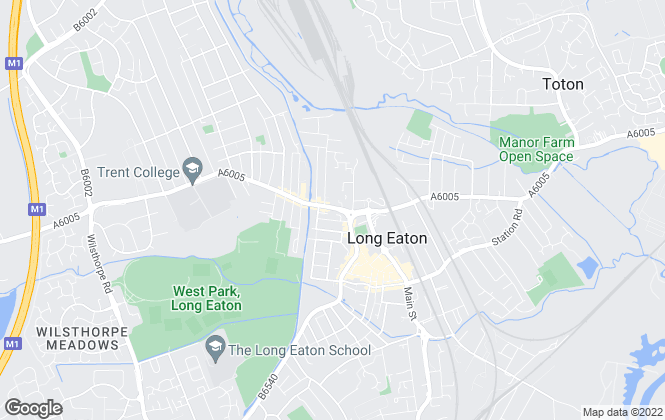Map for Wallace Jones, Long Eaton