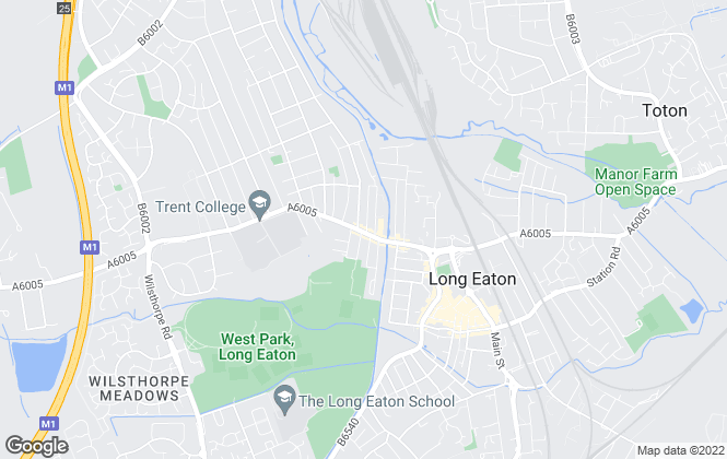 Map for Righthouse UK, Long Eaton