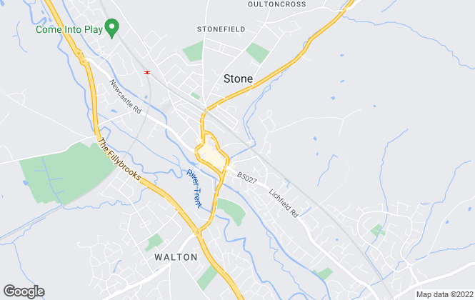 Map for Tinsley-Garner Independent Estate Agents, Stone