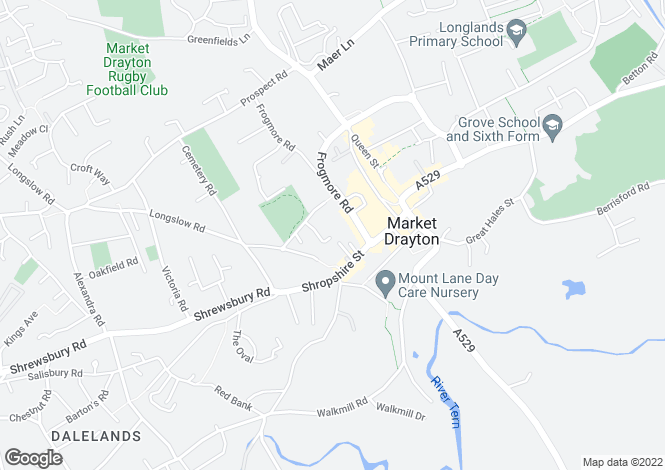 Map for Oak View,
