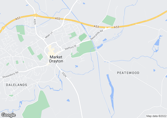 Map for 23, Berrisford Close, Market Drayton, Market Drayton