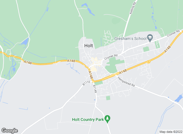 Map for Watsons, Holt