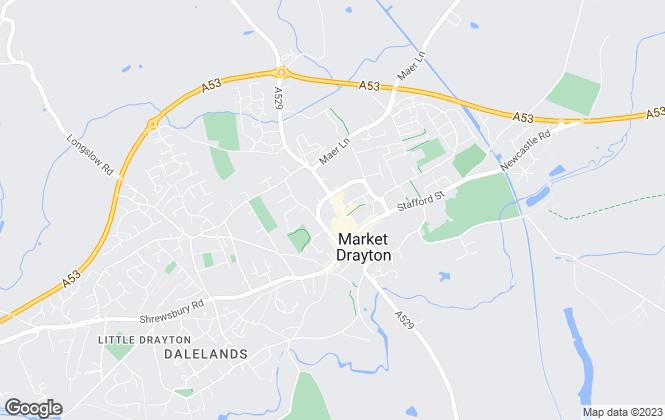 Map for S & J Property Centres, Market Drayton