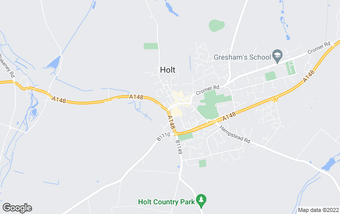 Map for Pointens, Holt