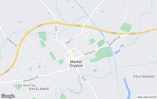 Map for Barbers Rural Consultancy LLP, Market Drayton