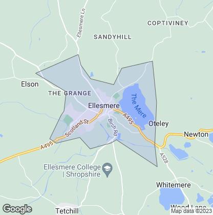 Map of property in Ellesmere