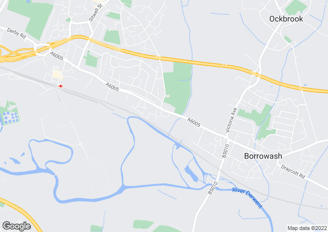 Map for Hobson Drive, Spondon, Derby, DE21 7TU