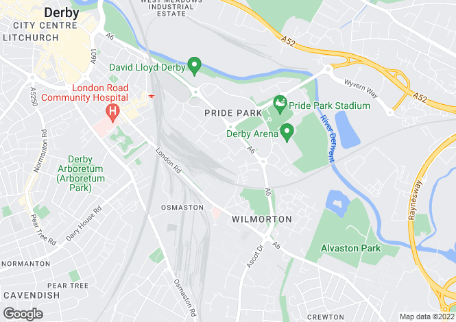 Map for Mallard Way,