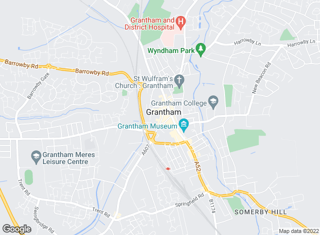 Map for Buckley Wand, Grantham