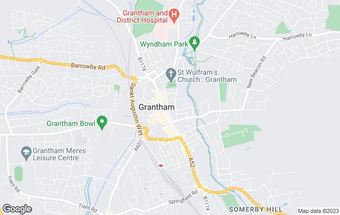 Map for EMPM, Grantham