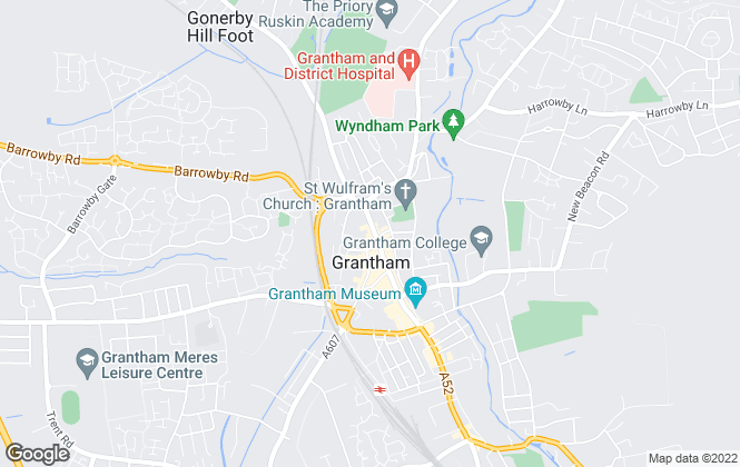 Map for Wisemove, Grantham
