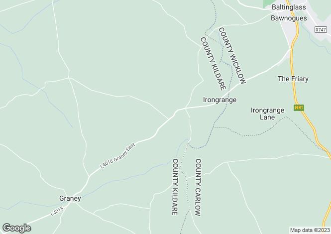 Map for Tankardstown, Baltinglass, Co. Wicklow