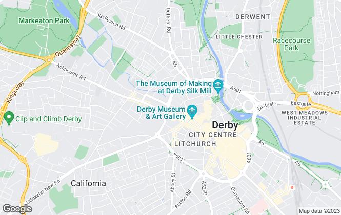 Map for Monkey vs Owl, Derby
