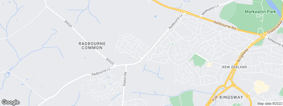 Map for Redrow Homes (East Midlands)