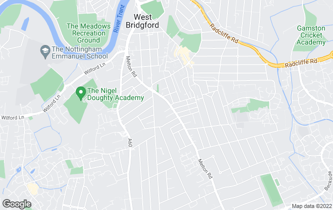 Map for WB Lets, West Bridgford