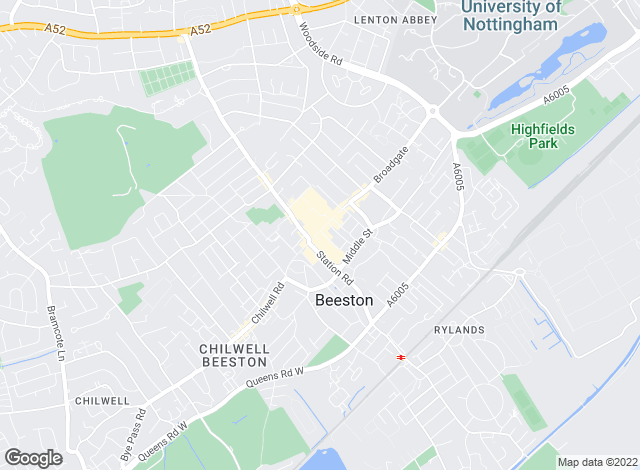 Map for Frank Innes, Beeston