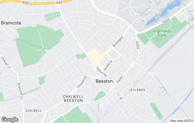 Map for Frank Innes, Beeston