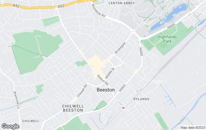 Map for PCS Commercial Property Specialist, Nottingham
