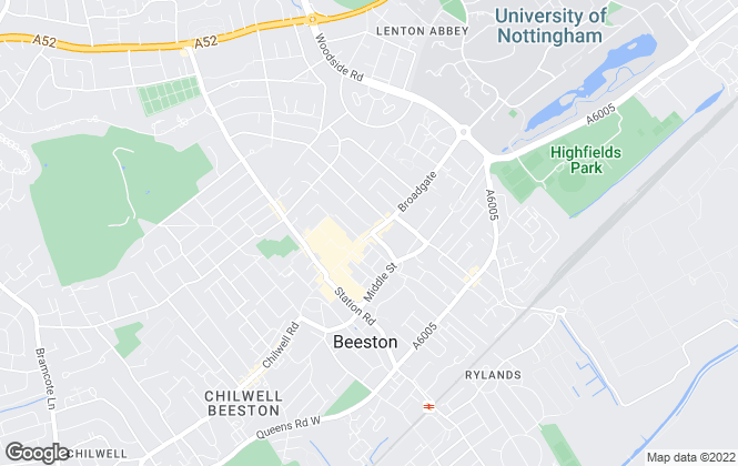 Map for C P Walker & Son, Beeston