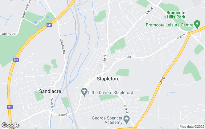 Map for Nottingham Property Services, Stapleford