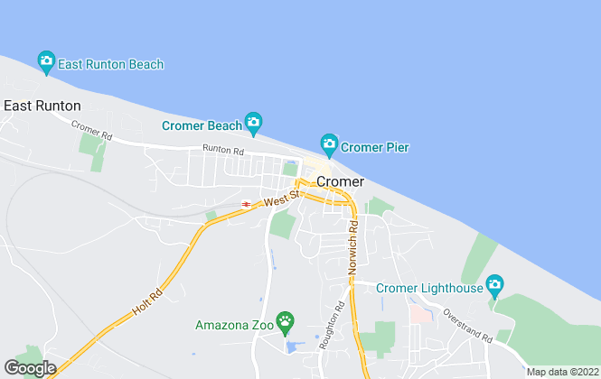 Map for Harrisons Estate Agents Limited , Cromer