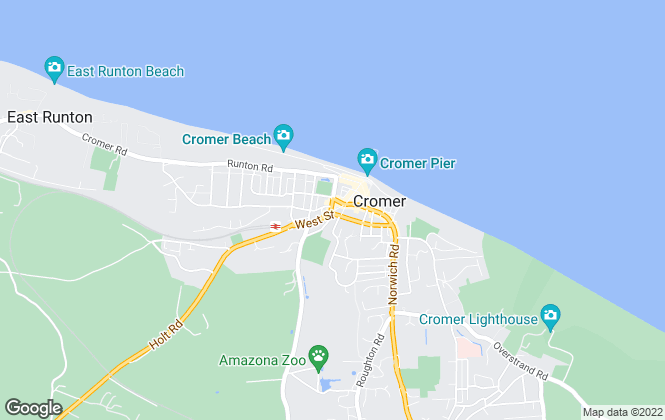 Map for Abbotts, Cromer