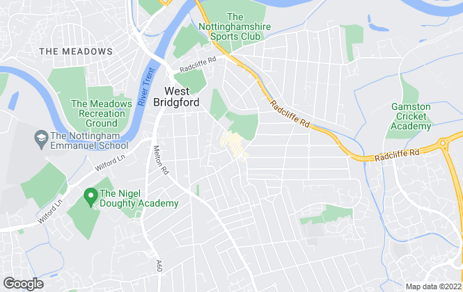 Map for Nottingham Property Services, West Bridgford