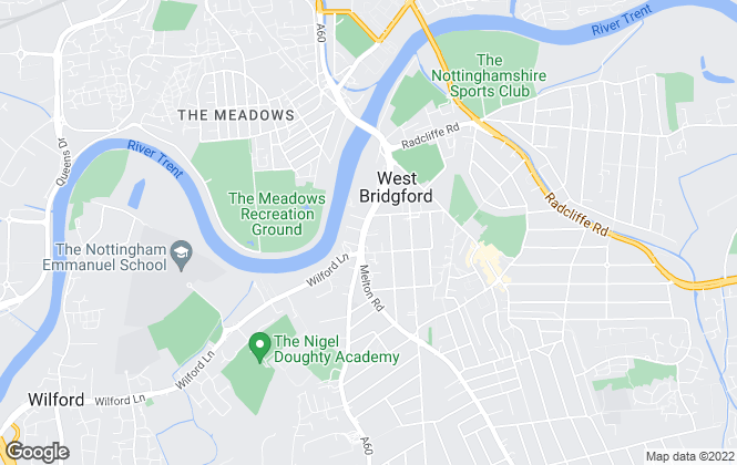 Map for NG Chartered Surveyors, Nottingham