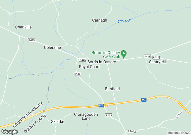 Map for Ballybrophy, Borris-in-Ossory, Co. Laois
