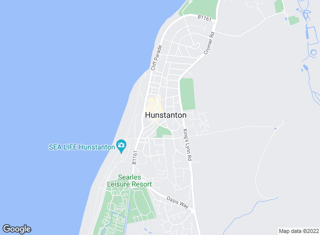 Map for Sowerbys, Hunstanton