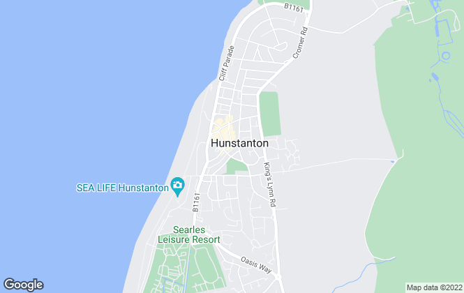 Map for William H. Brown, Hunstanton