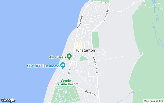 Map for Birds Estate Agents, Hunstanton
