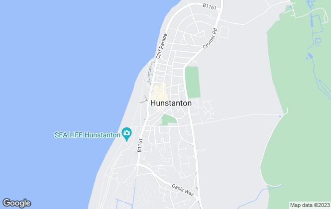 Map for Abbotts, Hunstanton