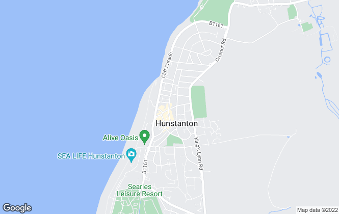 Map for Cruso Residential , Hunstanton