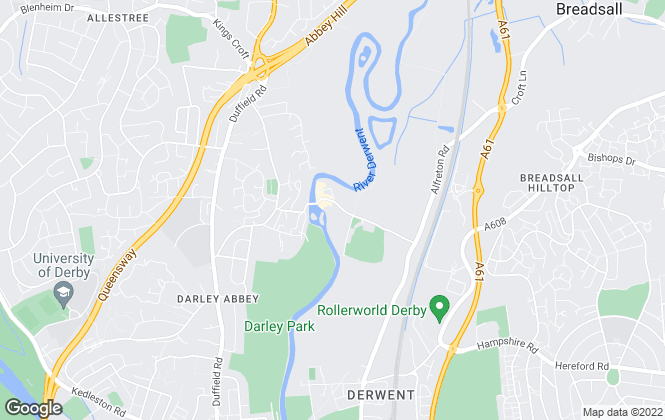 Map for Philip Ryan Estate Agents Limited, Derby