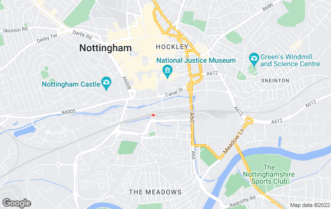 Map for Nottingham Property Plus, Nottingham