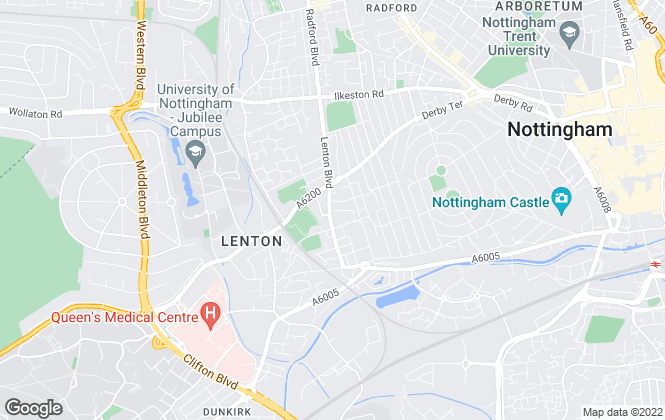 Map for Top 365 Sales Ltd, Nottingham - Sales