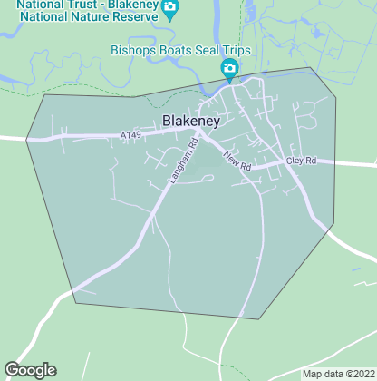 Map of property in Blakeney