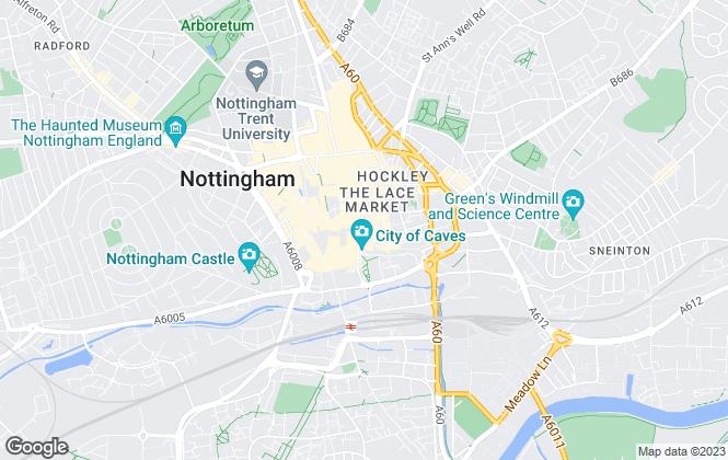 Map for FHP Living, Nottingham - Lettings