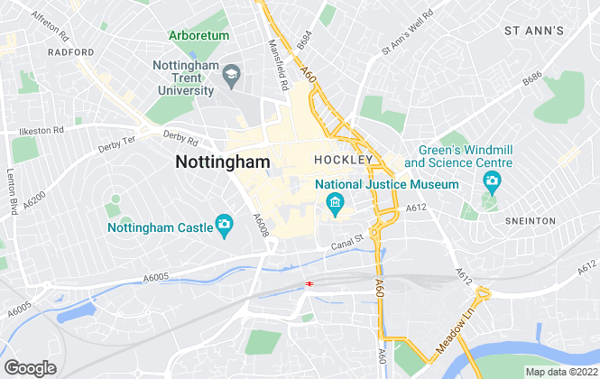 Map for Your Move , Nottingham Student Living
