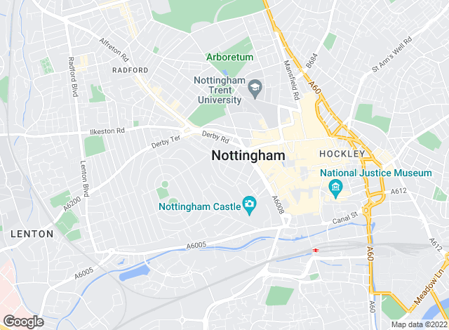 Map for Chesterton Humberts Sales, Nottingham