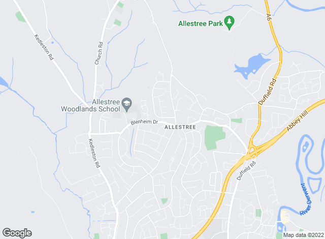 Map for Boxall Brown & Jones, Allestree