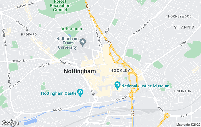 Map for Harper , Nottingham